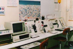 Sede Croce Blu Vecchia Sala Operativa